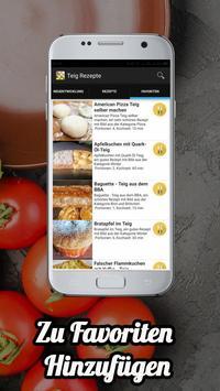 Teig Rezepte App screenshot 1