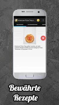 Teig Rezepte App screenshot 2