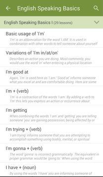 Learn to Speak English screenshot 1