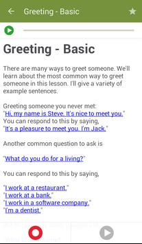 Learn to Speak English screenshot 2