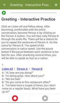Learn to Speak English screenshot 3