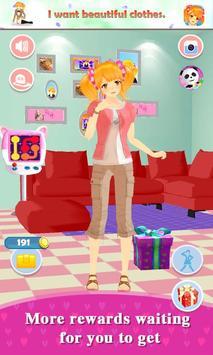 My Talking Girl screenshot 2
