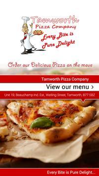 Tamworth Pizza Company UK poster