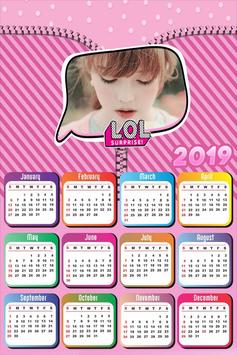 Calendar Photo Editor 2019 screenshot 2