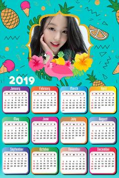 Calendar Photo Editor 2019 screenshot 5