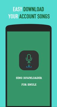 Sing Downloader poster