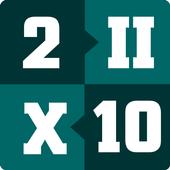 Roman Numerals 1 to 1000 icon