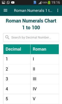 Roman Numerals 1 to 1000 screenshot 3