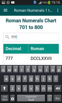 Roman Numerals 1 to 1000 screenshot 5