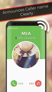 Caller Name Speaker screenshot 3