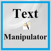 Text Manipulator icono
