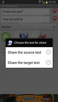 Text Manipulator captura de pantalla 3