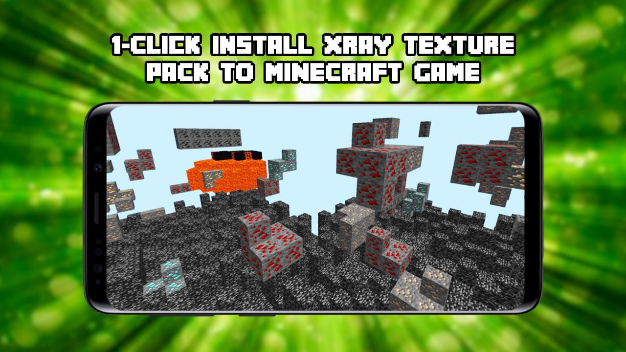 X-Ray Texture Pack for MCPE para Android - APK Baixar