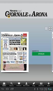Giornale di Arona poster