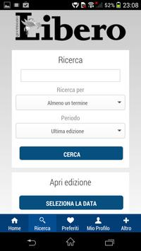 Libero screenshot 1
