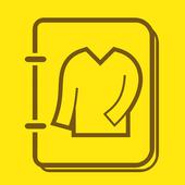 洋服カード icon