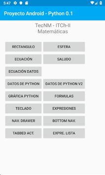 Proyecto Android  - Python poster
