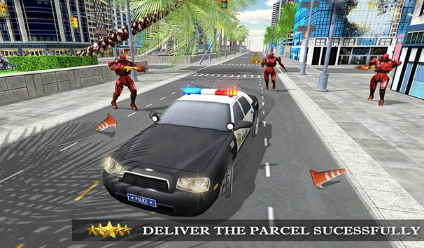 Transformer Robot Cop Shooting Action Game screenshot 10
