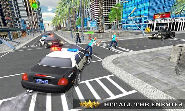 Transformer Robot Cop Shooting Action Game screenshot 1