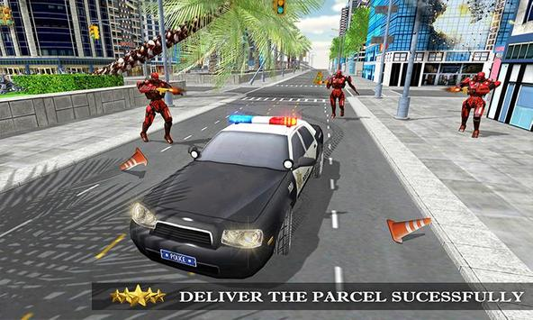 Transformer Robot Cop Shooting Action Game screenshot 4