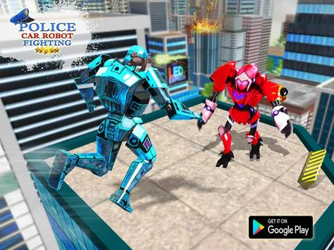 Transformer Robot Cop Shooting Action Game screenshot 6
