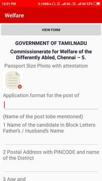 SMART TRICHY WDAP Welfare of the Differently Abled screenshot 1