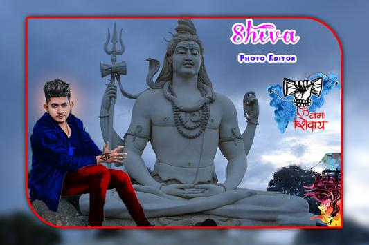 Shiva Mahakal Photo Editor poster