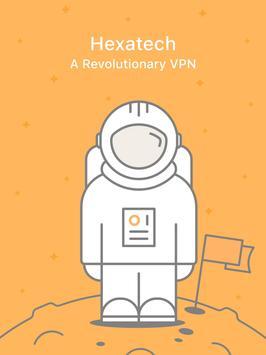 VPN Hexatech Gratis Sepuasnya - Membuka Blokir screenshot 3
