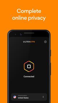 VPN by Ultra VPN - Secure Proxy & Unlimited VPN screenshot 3