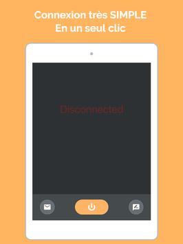 VPN par Ultra VPN - Proxy sécurisé et VPN illimité capture d'écran 10
