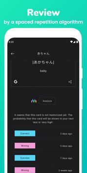 Memorize: Learn Japanese Words with Flashcards captura de pantalla 2