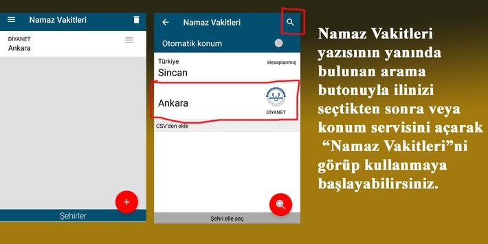 Namaz Vakitleri screenshot 4