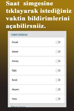 Namaz Vakitleri screenshot 6