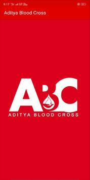 Aditya Blood Cross poster