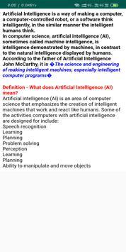 Tutorials Of Artificial Intelligence screenshot 1