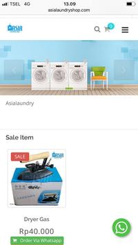 Asia Laundry poster