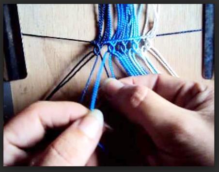 Learn to knit macrame. Macrame knots screenshot 3