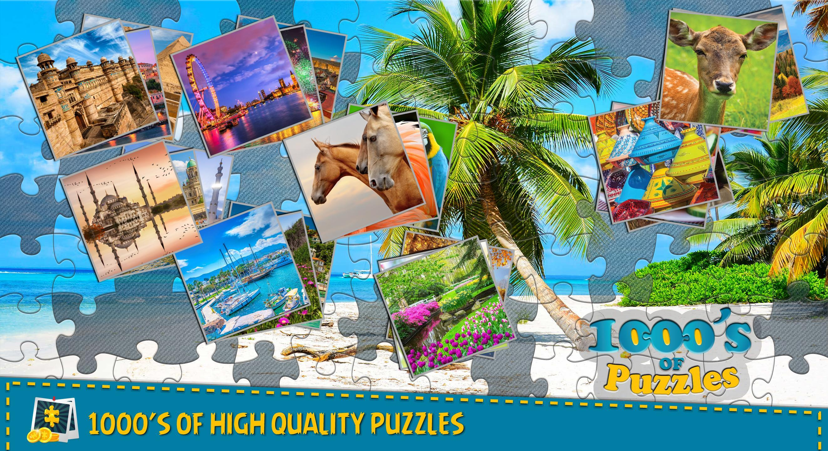 Jigsaw Puzzle Crown - Classic Jigsaw Puzzles for Android
