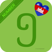 Learn Khmer Number Easily - Khmer Couting -  123 icon