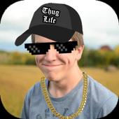 Thug Life Stickers - Pics Editor & Photo Maker icon