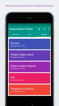 Belajar Bahasa Thailand screenshot 2