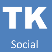 tksocial,Free chat& call video icon