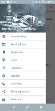 The Message Audio Bible poster