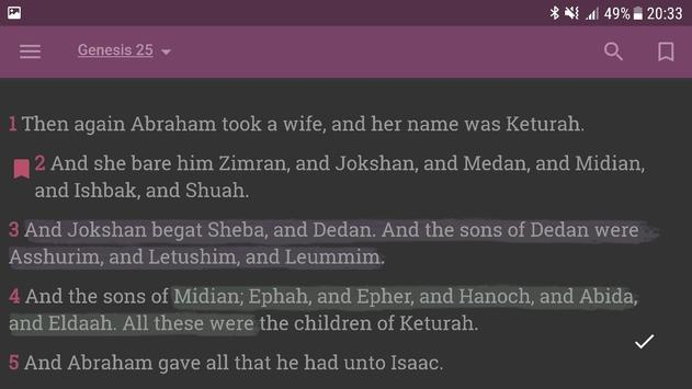 Holy Bible with Apocrypha screenshot 16