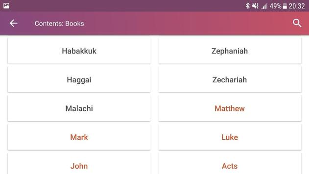 Holy Bible with Apocrypha screenshot 13