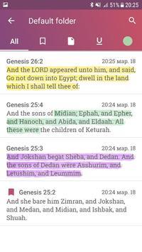 Holy Bible with Apocrypha screenshot 5