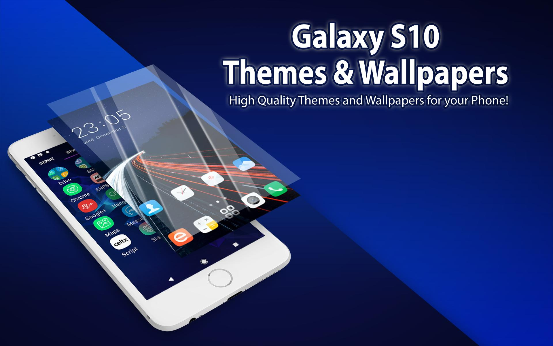 Theme For Samsung Galaxy S10 Launcher Wallpaper For