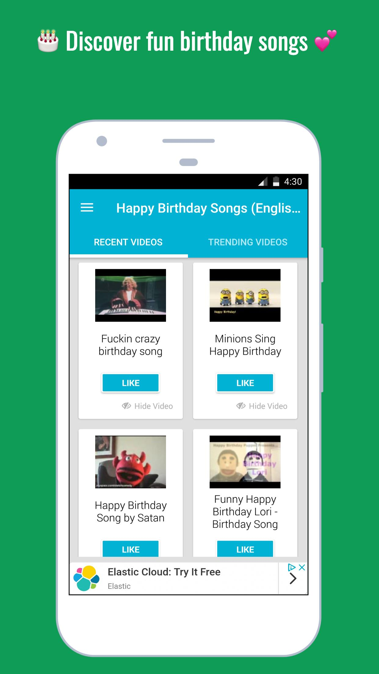 Happy Birthday Songs 🎂 for Android - APK Download