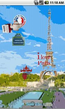 Paris Live Wallpaper FREE screenshot 3