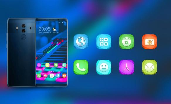 Theme for music band electroacoustic wallpaper screenshot 3